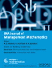 IMA Journal of Management Mathematics