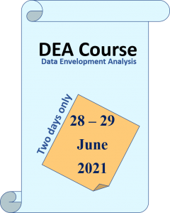 DEA Courses Two days training. 28-29th June 2021.